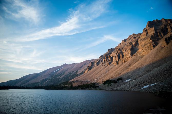 Backpacking Amethyst Lake