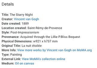 about Vincent Van Gogh