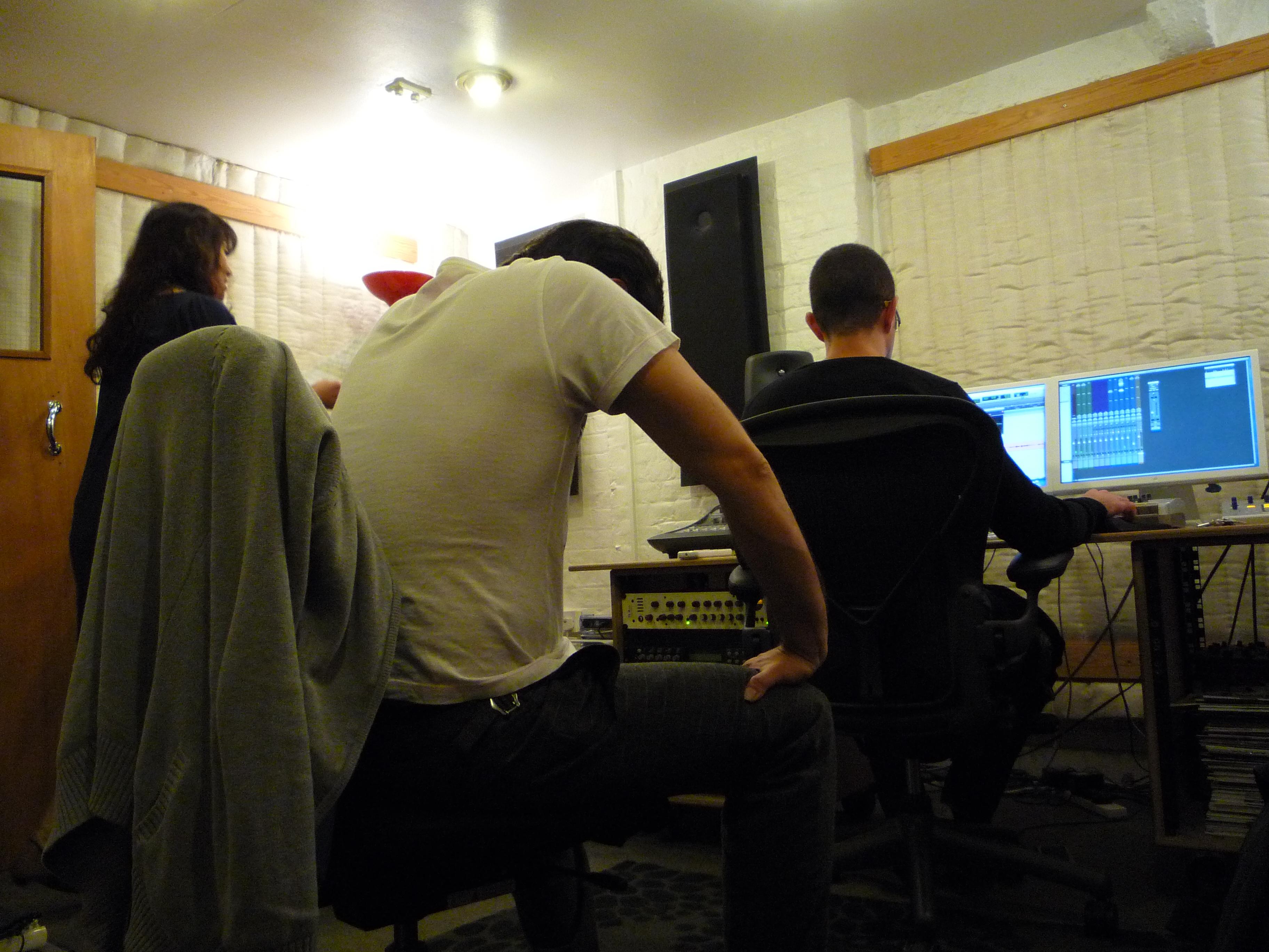 hiroko's recording session