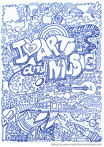 I love art & music Missing Monsters page