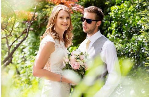 Bride & Groom Summer Wedding
