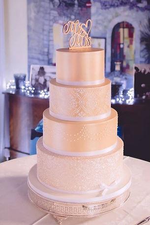 Bespoke wedding and celebration cakes UK