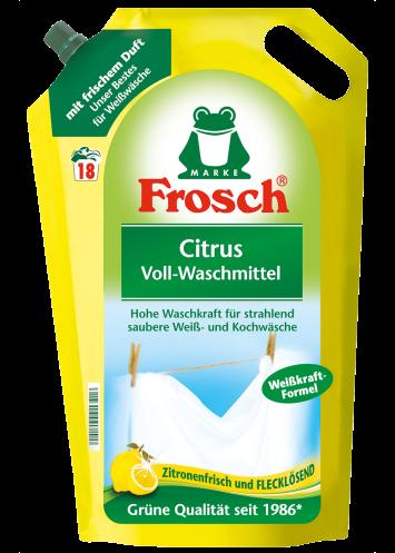 Frosch נוזל כביסה מומלץ לכביסה לבנה