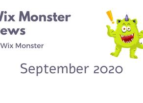 מה חדש בוויקס - ספטמבר 2020