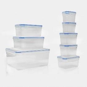 קופסאות פלסטיק לאריזה במטבח
