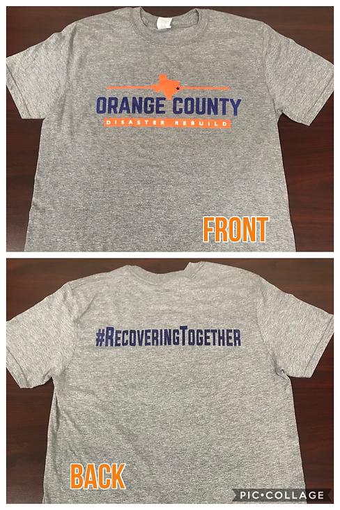 Orange County Disaster Rebuild T-Shirt