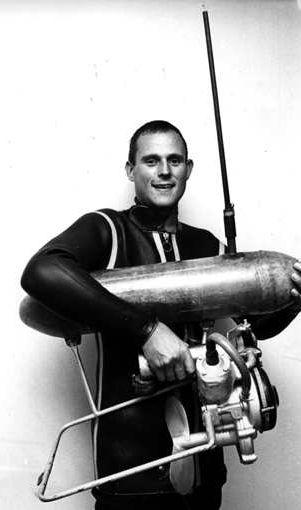 ממציא הסקוטר הימי | ברנד באטגר