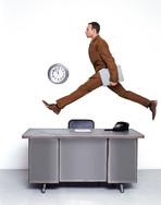 Sat Night Desk Jump Eva Mueller