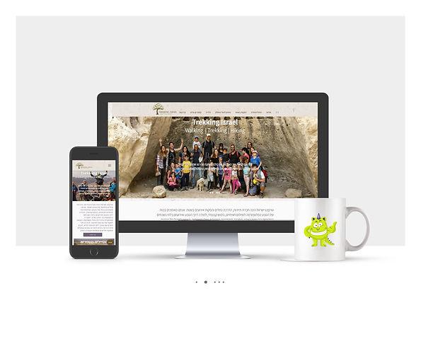 אתר Wix מתקדם לחברת טיולים ואתגרים