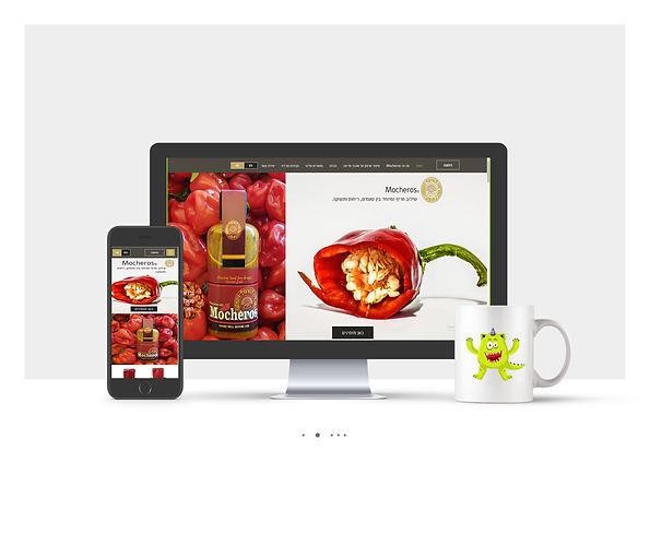 אתר חנות Wix עבור Mocheros
