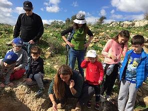 Trekking Israel -  טיולי משפחות מטיילים מספרים
