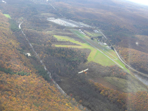 Aerial shot, 2-33 in foreground