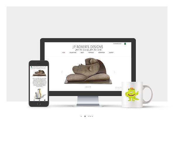 אתר חנות וויקס עבור JR
