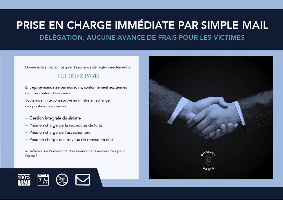 DELAGATION POUR LE COMPTE DE L'ASSURE
