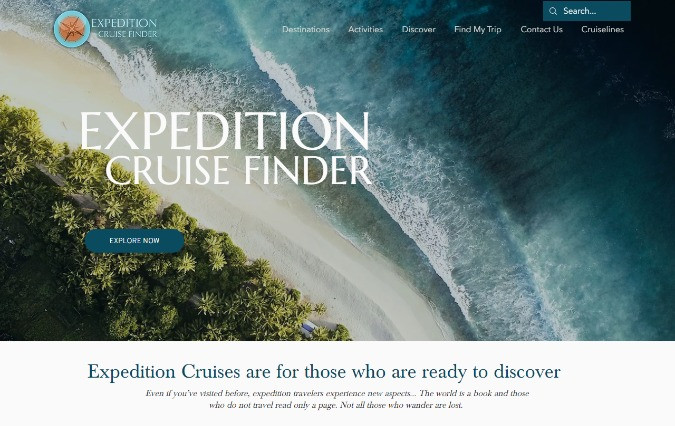 Expedition Cruise Finder