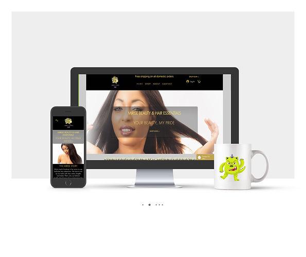 אתר חנות Wix עבור Mirse