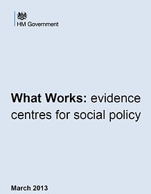 What Works: evidence centres for social policy