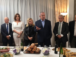 Ehud hazan & benjamin netanyahu sara netanyahu