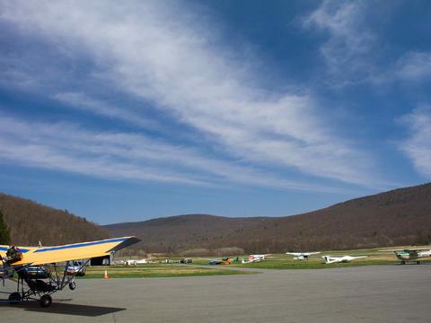 Ground view of Wurtsboro Airport