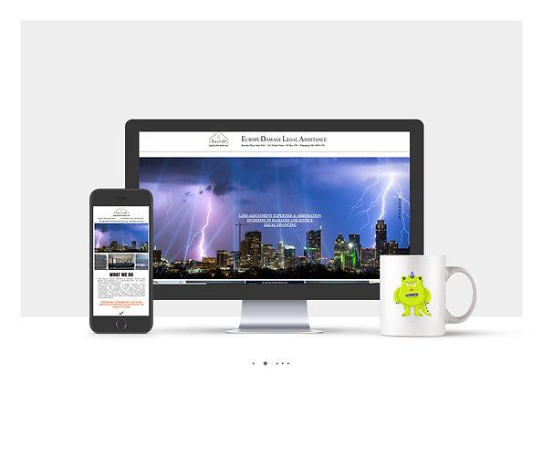 אתר וויקס תדמיתי עבור Edla Fund