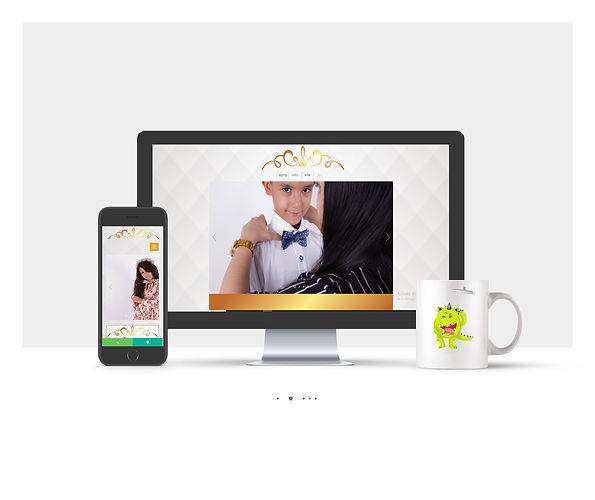 אתר Wix עבור בגדי מלכות