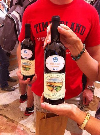 חווית יין בחווה