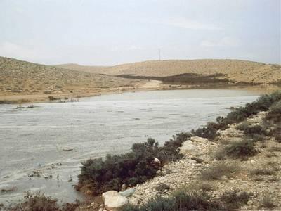 שיטפונות חורף בהר הנגב וחוות כרמי עב