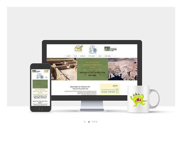 אתר Wix תדמיתי עבור חברת בניה ירוקה