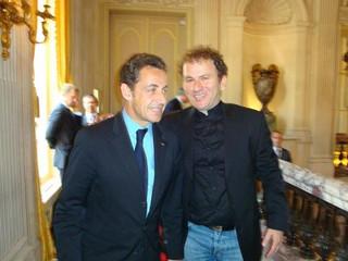 Nicolas Sarkozy & Ehud Hazan