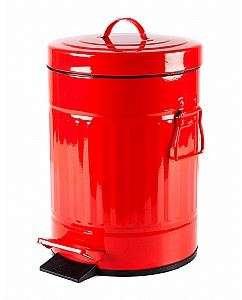 פח רטרו 3 ליטר אדום