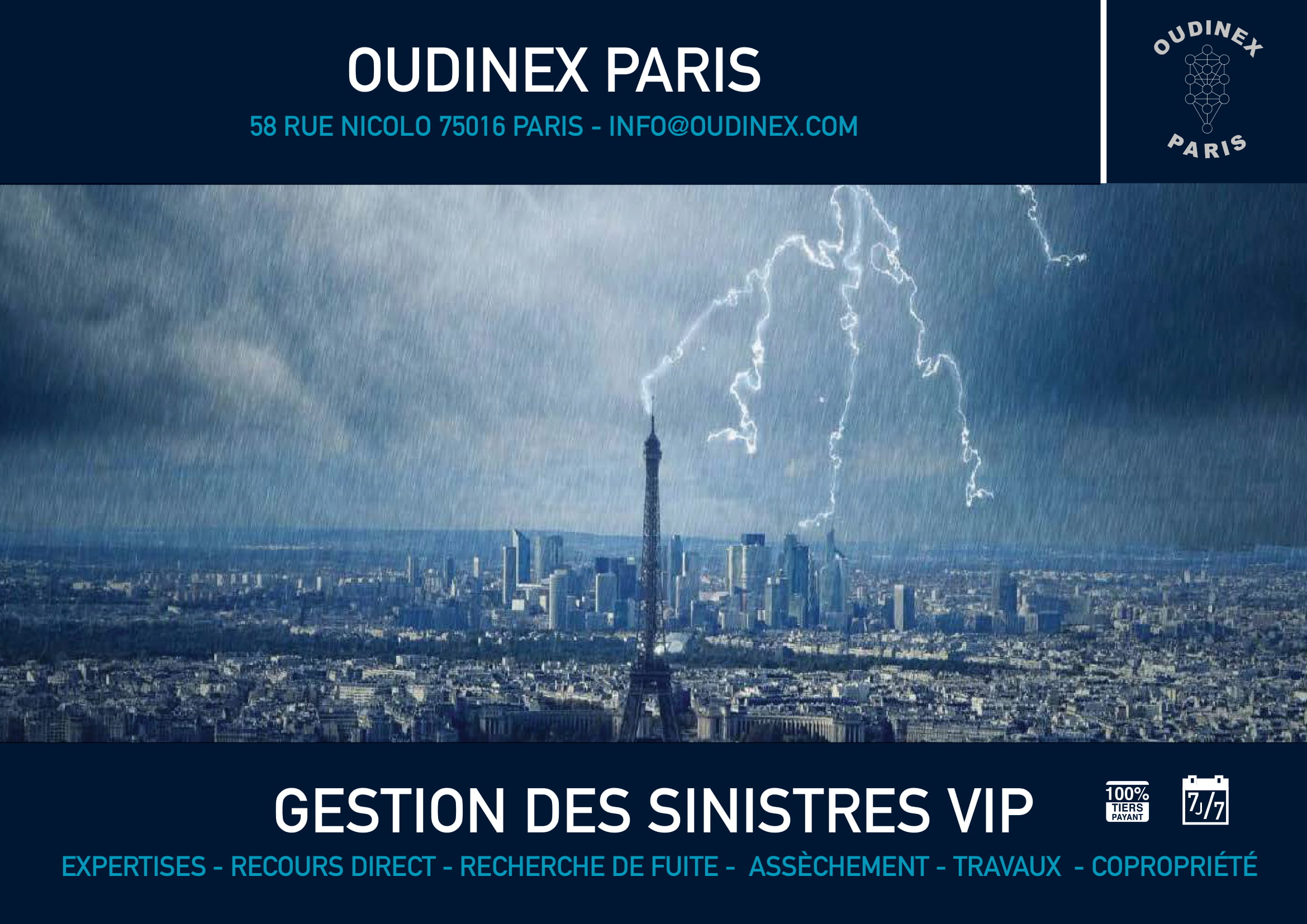 OUDINEX GESTION DE SINISTRE PRO LOCAUX COMMERCIAUX