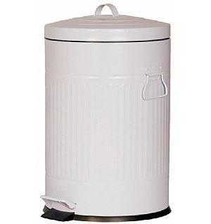 פח רטרו 20 ליטר לבן