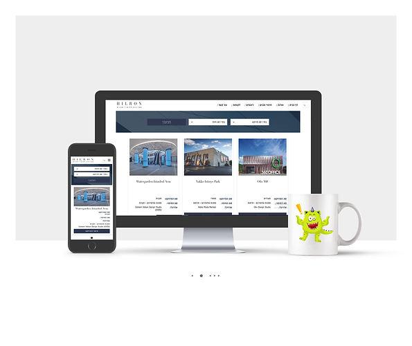 אתר Wix עבור הילרון פרוייקטים