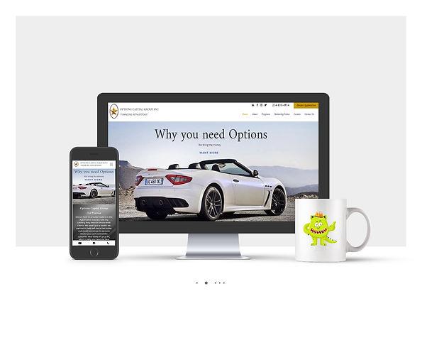 אתר Wix מתקדם עבור חברת מדיה אמריקאית