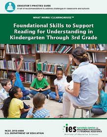 Foundational Skills to Support Reading for Understanding in Kindergarten Through 3rd Grade
