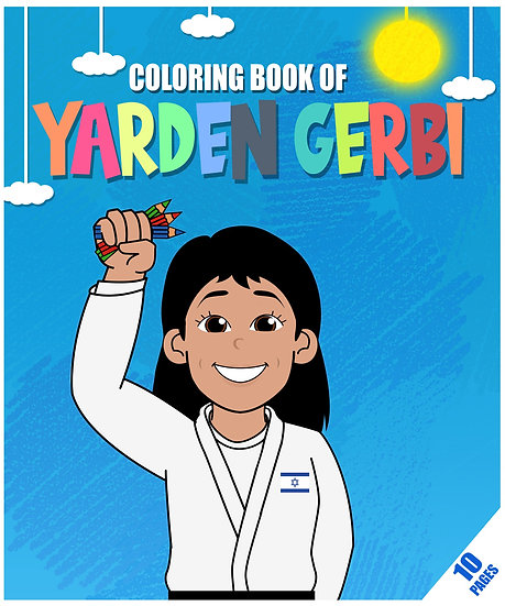 Coloring booklet of Yarden Gerbi