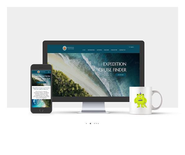 אתר Wix תדמיתי עבור חברת תיירות