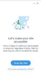 מסייע נגישות - Accessibility Wizard