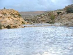 floods in Carmey Avdat