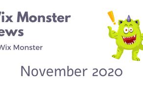 מה חדש בוויקס - נובמבר 2020