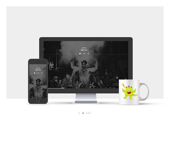 אתר וויקס תדמיתי עבור מועדון הקצב של אביהו פנחסוב