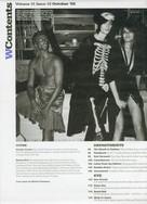 W Magazine Contents