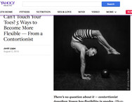 Can't Touch Your Toes? 5 Ways to Become More Flexible — From a Contortionist
