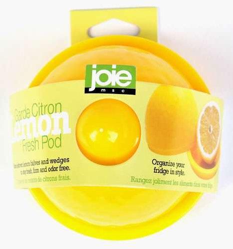 כלי לאחסון חצי לימון
