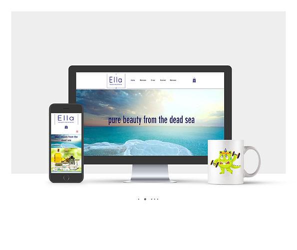 אתר חנות Wix עבור למוצרי ים המלח