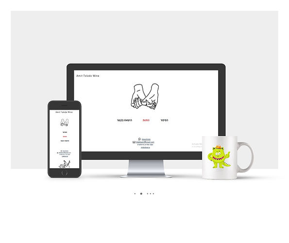 אתר חנות Wix עבור יקב עמית טולדו