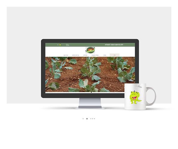 אתר חנות Wix עבור חנות ירקות