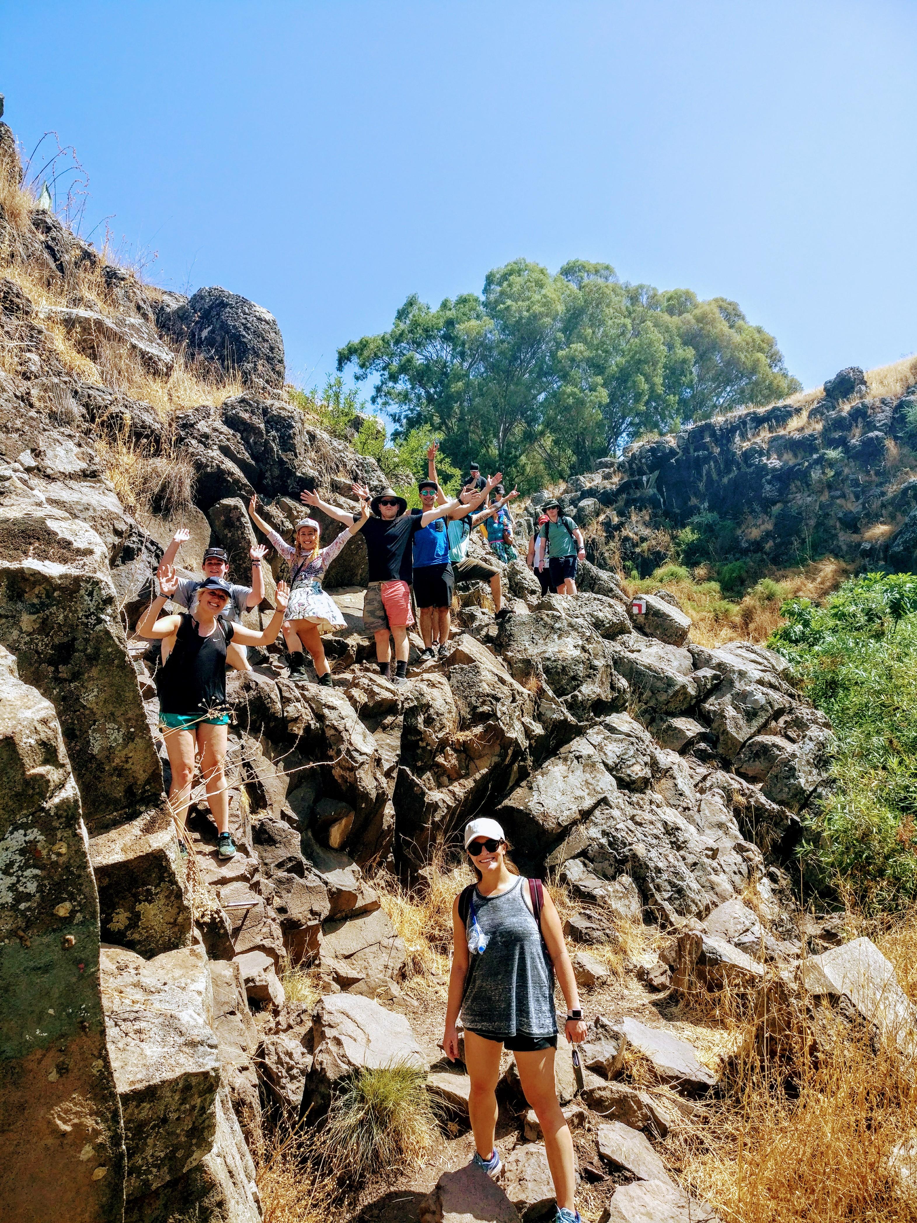 Trekking Israel צוברים חוויות עם