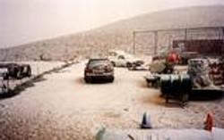 Snow in Carmey Avdat