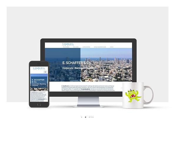 אתר Wix עבור משרד עורכי דין א.שפר